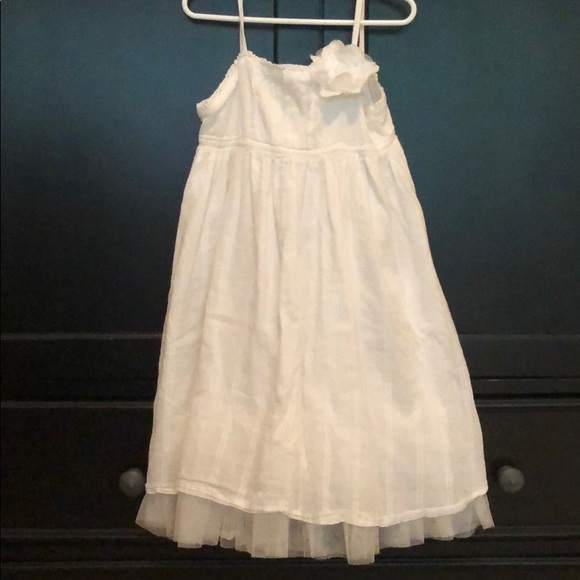 GAP Other - White tulle lined dress